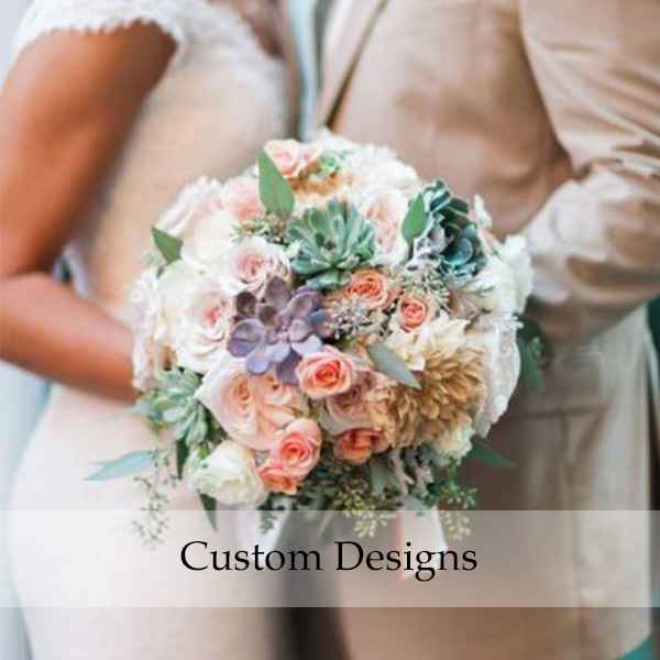 Custom Wedding Flowers