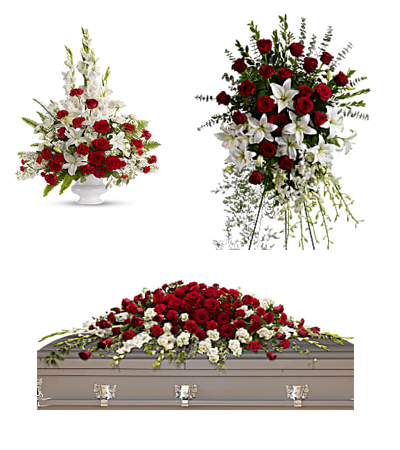 Alter Flowers, Standing Spray, Full Casket Spray
