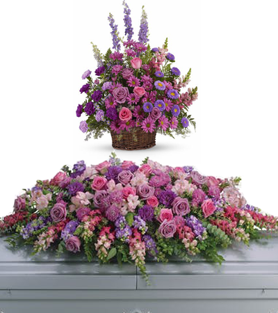 Sympathy Flowers, Full Casket Spray