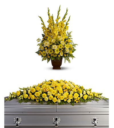 Casket Covers, Sympathy Flowers